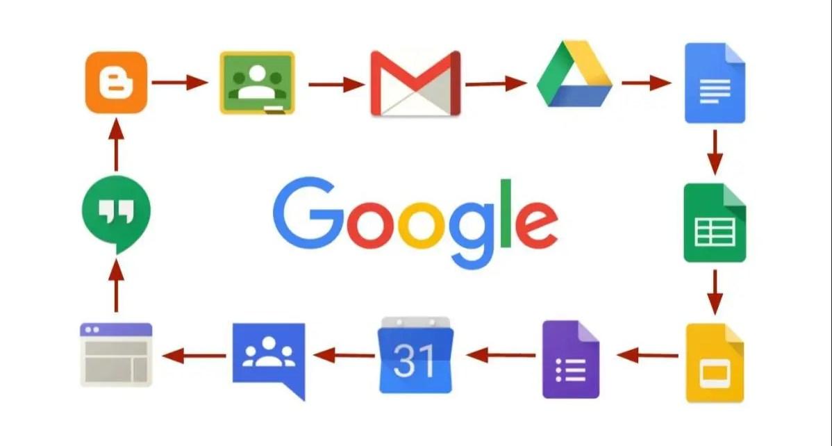 Servicios de google sufren ca?da tecnol?gica, Esto hace que ha hecho que plataformas virtuales como Google, YouTube, Gmail, Drive, Hangouts,