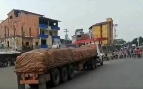 Agricultores de Barinas protestan por falta de gasolina, cada d?a se hace m?s dif?cil el abastecimiento de combustible, escasez