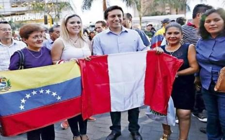 Migrantes venezolanos en Per? recibir?an un bono de ayuda, El anuncio lo realiz? el ministro de Relaciones Exteriores de Per?, Gustavo Meza-Cuadra.