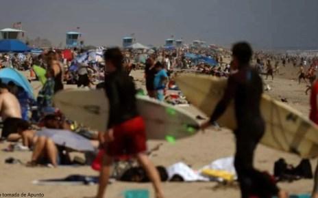 EEUU: Relajaci?n del confinamiento con d?a de playa Vs medidas de restricci?n de vuelos desde Brasil, EEUU se acerca a la cifra de 100.000 personas muertas