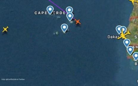 El avi?n de Pdvsa, sancionado por EEUU, habr?a llegado de Cuba y aterriz? en Cabo Verde este viernes