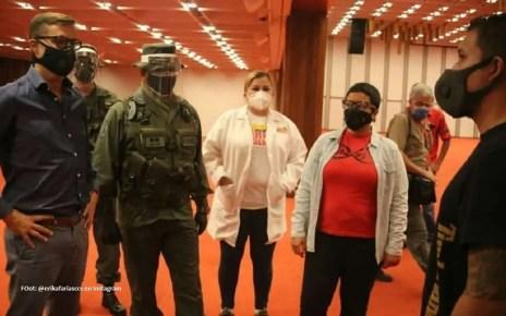 El Gran Sal?n del Alba Caracas ser? habilitado para atender pacientes con COVID-19