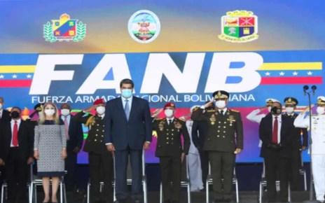 El nuevo Alto Mando Militar fue oficializado la noche este 07/07, con Vladimir Padrino L?pez nuevamente de ministro de defensa, por sexto a?o consecutivo