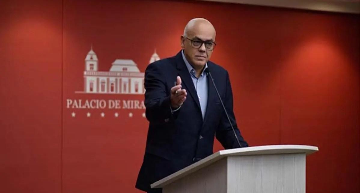 ¡Régimen sigue en carrera electoral! Jorge Rodríguez: votar no es una opción, sino una obligación