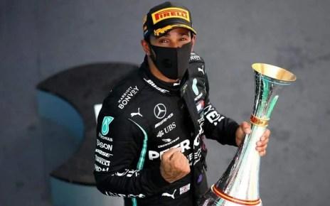 Lewis Hamilton gan? el GP de Espa?a este domingo y logr? su podio 156 con el que supera a Schumacher