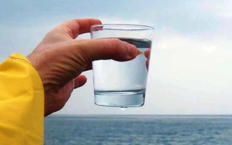 desalinizar agua de mar