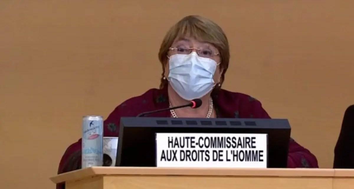 Michell Bachelet presentó la actualización del informe sobre los DDHH en Venezuela ante la comisión de la ONU