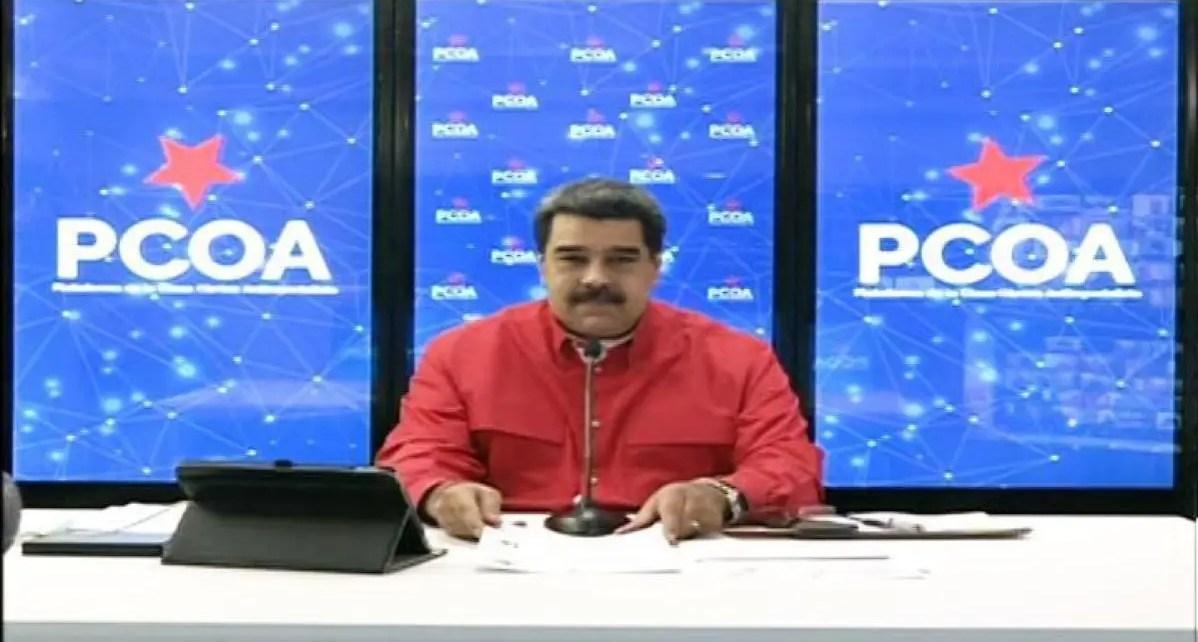 """Criticó los mensajes contra la """"revolución"""": Maduro pide a la próxima AN debatir regulación de las redes sociales"""