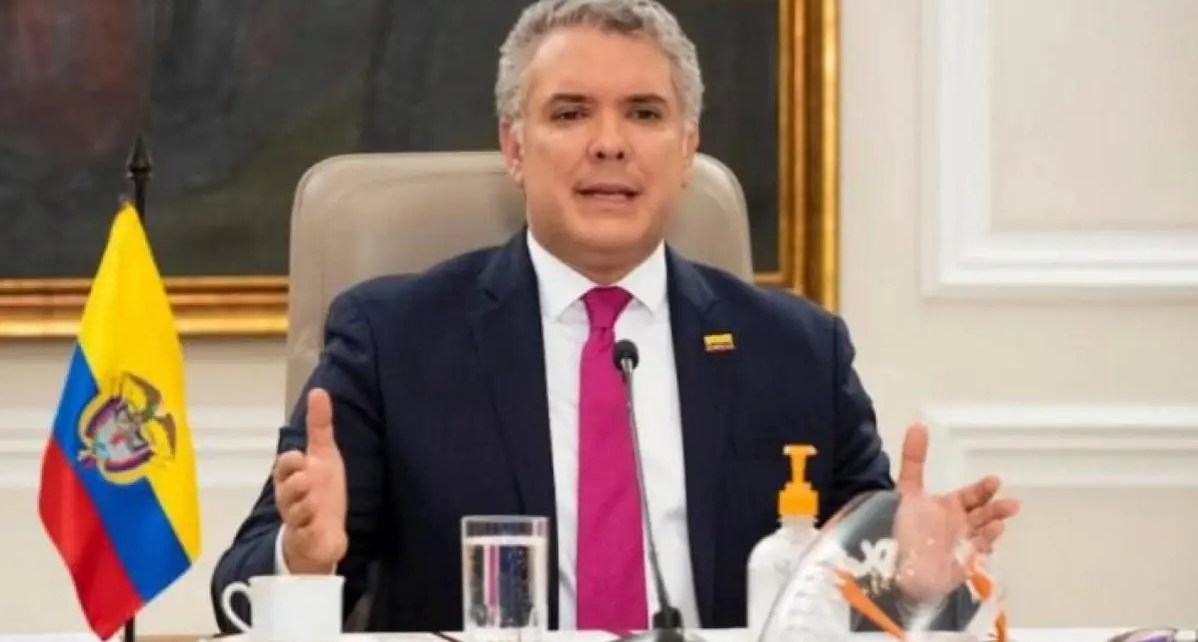 Duque: venezolanos en Colombia deben regularizarse para vacunarse contra Covid-19