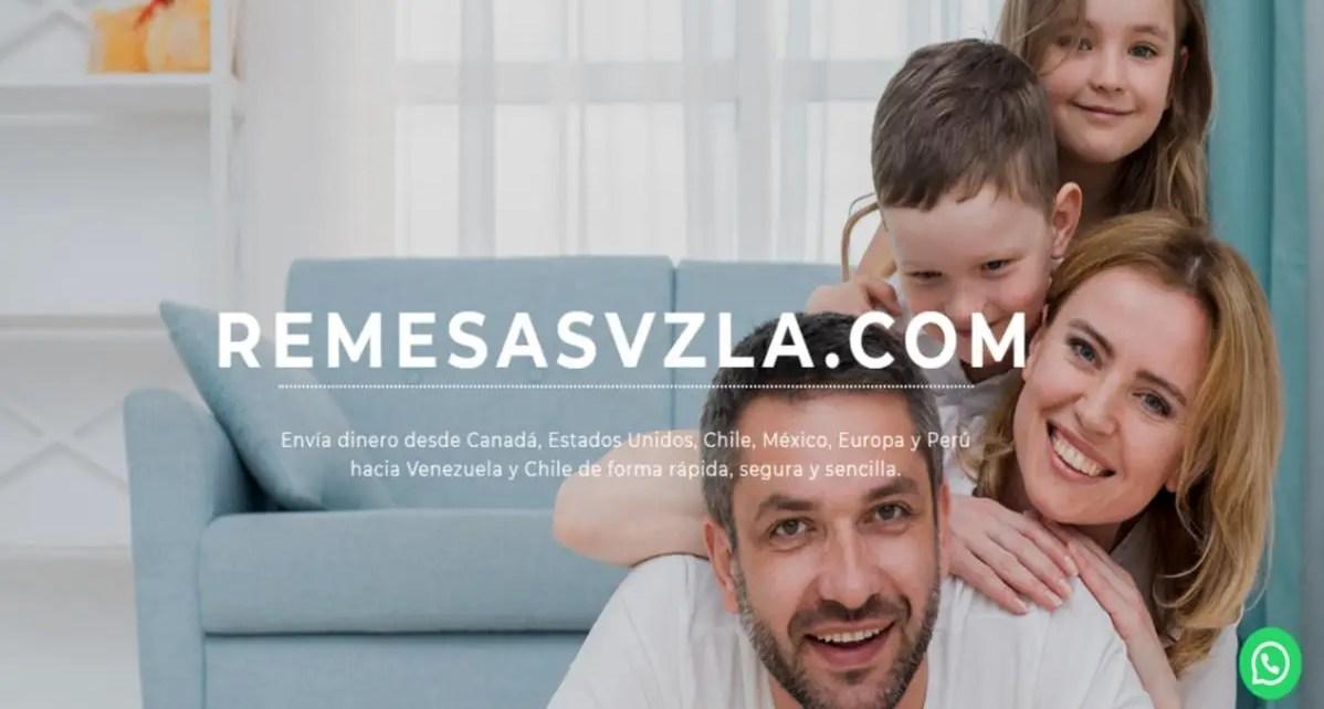 Remesasvzla.com la opción sólida y responsable para el envió de dinero a familias y a amigos