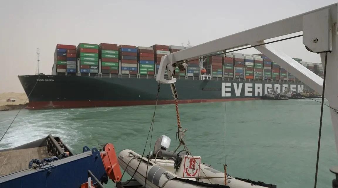 Imagen Tomada de la Autoridad del Canal de Suez