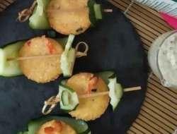Resep Tahu Udang dengan Creamy Garlic Sauce yang Gurih