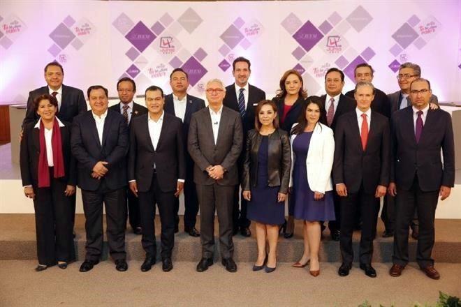 Corrupción e inseguridad la constante en el debate de los candidatos al gobierno del Edomex