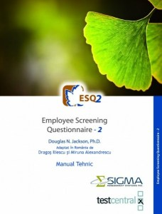 ESQ2 – Employee Screening Questionnaire