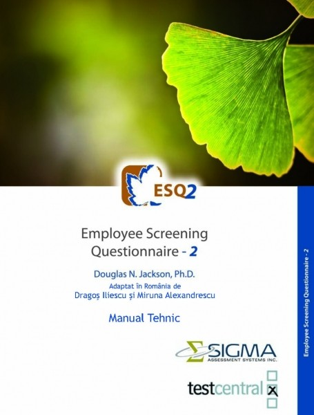 ESQ2 – Employee Screening Questionnaire