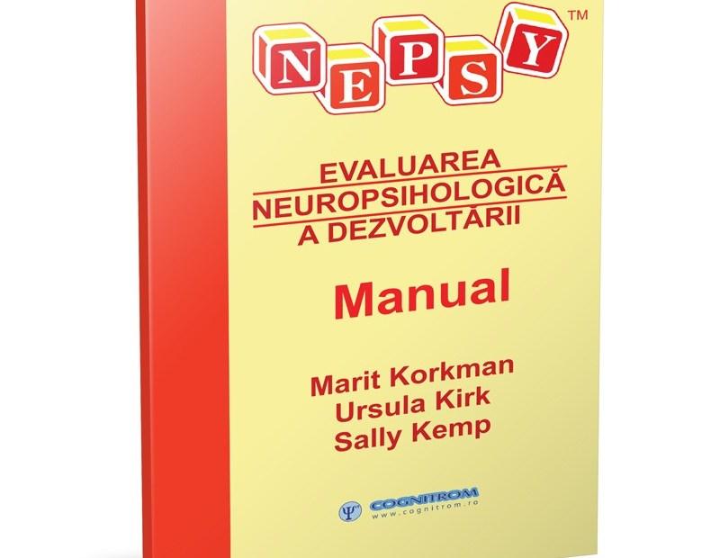 NEPSY – Bateria de evaluare neuropsihologică la copii 3-12 ani