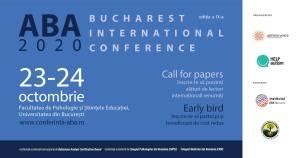 Formare profesională continuă: Conferința Internațională ABA, ediția a IX-a