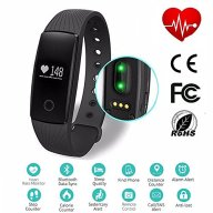 Heart Rate Fitness Tracker Ativafit Sleep Monitor Calorie Counter Waterproof Activity Tracker Smart Bracelet for iPhone & Android Phone