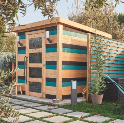6 abris de jardin pour gagner un espace