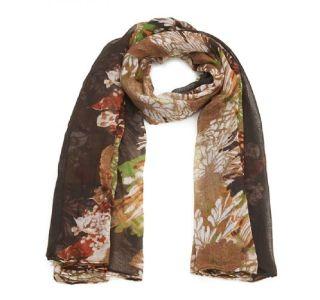foulard_marron_fleur_blanche_mjp