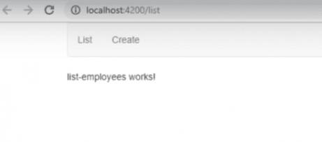 angular 6 routing list output in angular cli