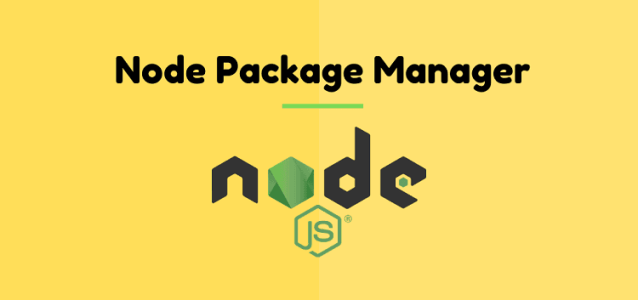 What Node Package Manager?
