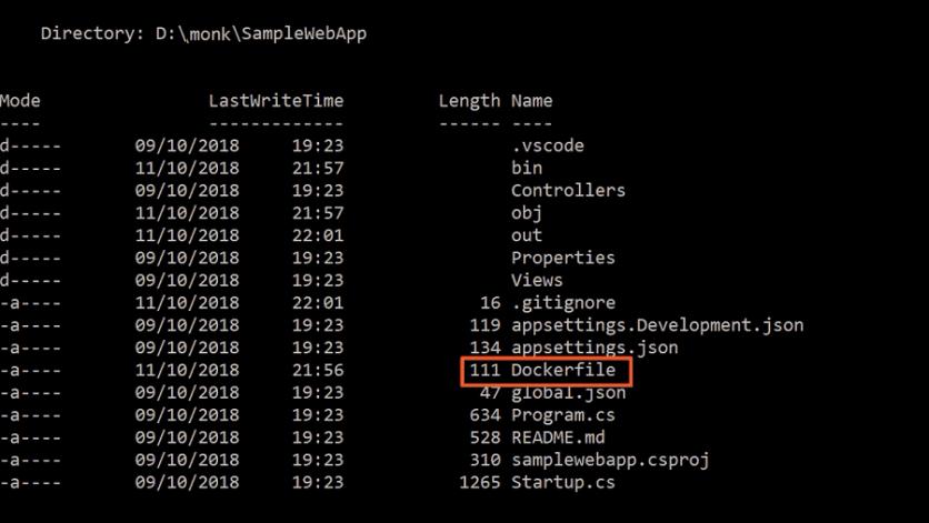 asp.net core file structure