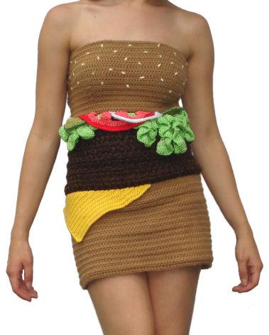 hamburgerdress
