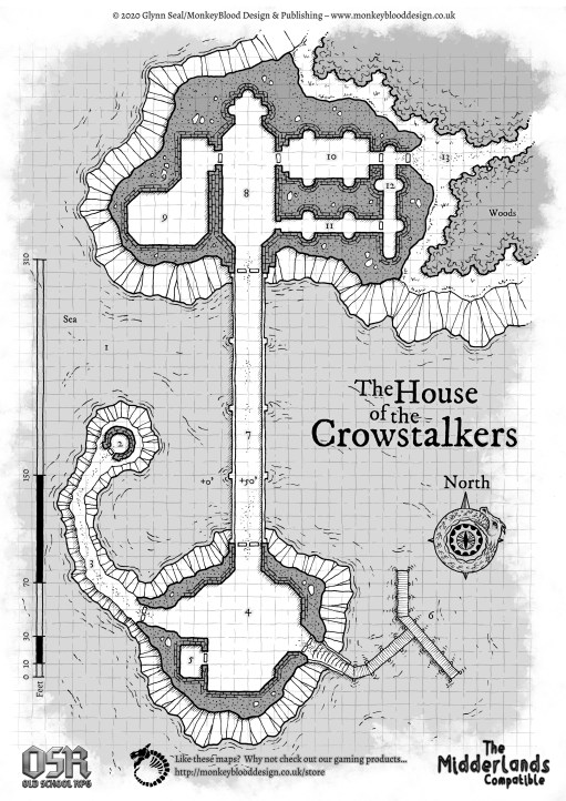 The House of the Crowstalkers - Copyright Glynn Seal