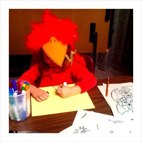 Little Lucia Red Bird