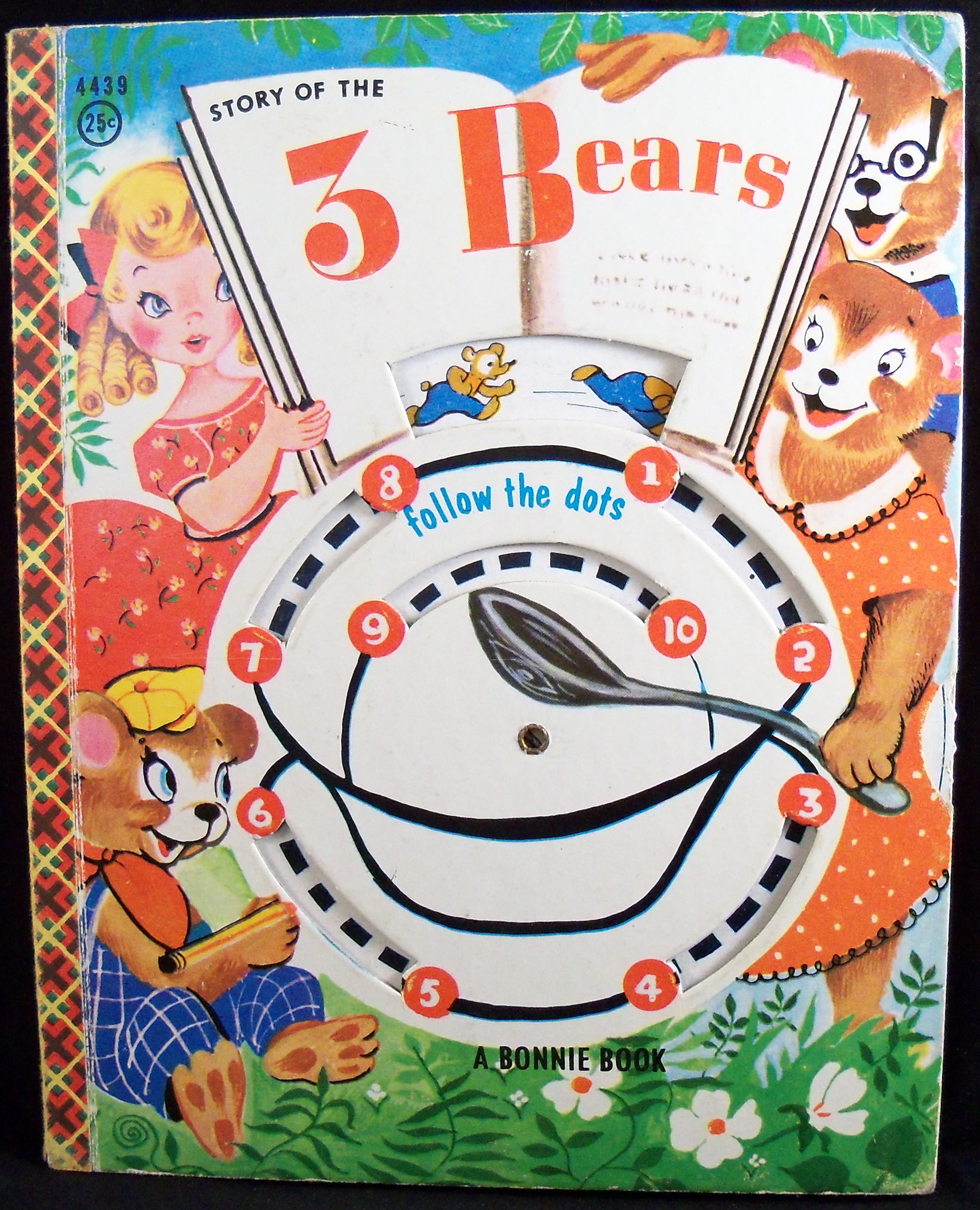 Vintage Dot To Dot Collection The Story Of The Three Bears