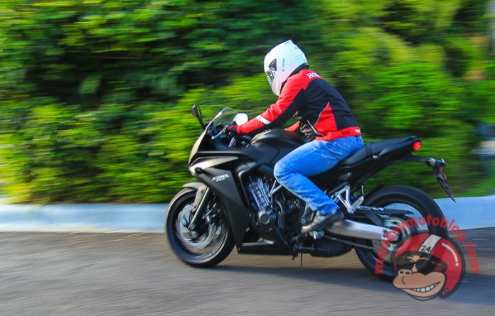 test ride Honda CBR650F-6