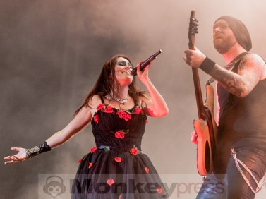 Within Temptation, © Dietmar Grabs