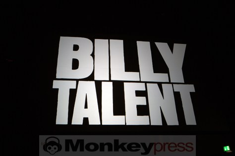 Billy Talent, © Marcus Nathofer