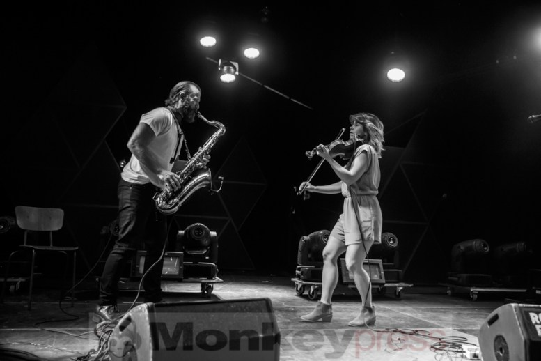 Colin Stetson and Sarah Neufeld, © André Techert