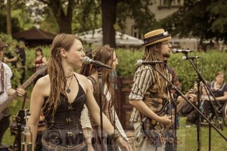 Drachenflug @ 6. Steampunk Picknick, © Danny Sotzny