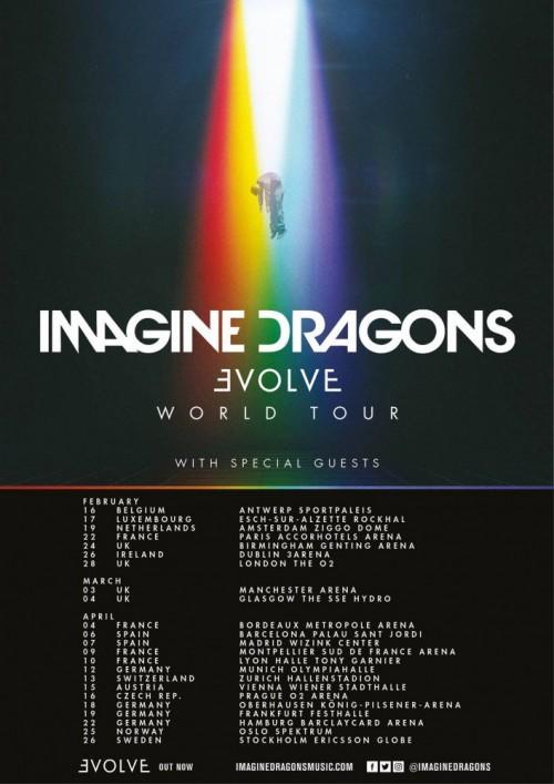 Imagine Dragons Tour Birmingham