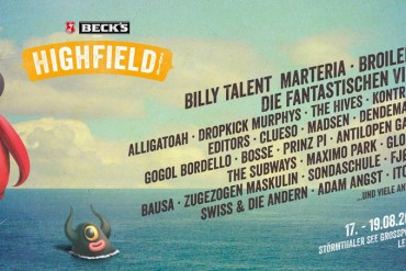 HIGHFIELD FESTIVAL 2018 – Auf ein Neues mit Fanta 4, Billy Talent, The Hives und Bad Religion