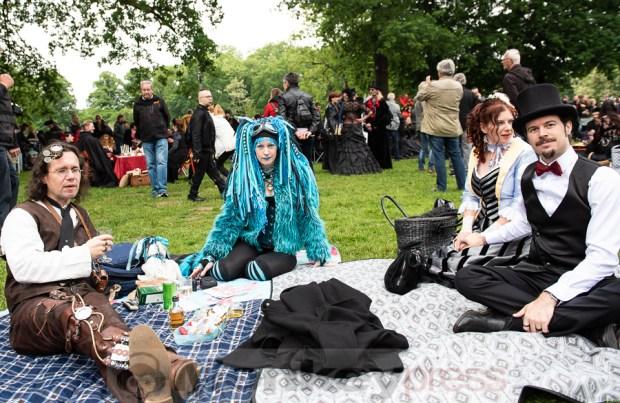 Viktorianisches Picknick © Thomas Papenbreer