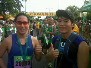 My new Half Marathon PR - 2:13