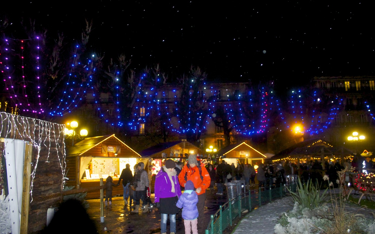 Christmas market in Grenoble France