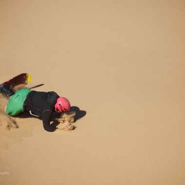 31/08/2013 - Sand Boarding, Dorob National Park, Swakopmund, Namibia