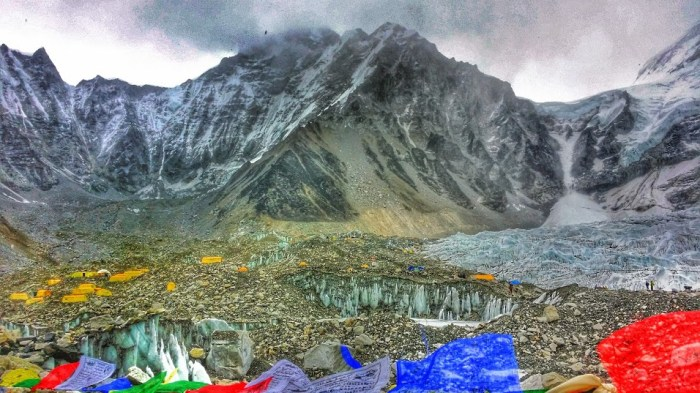 You reach Mount Everest Base Camp after 8 days of trekking.