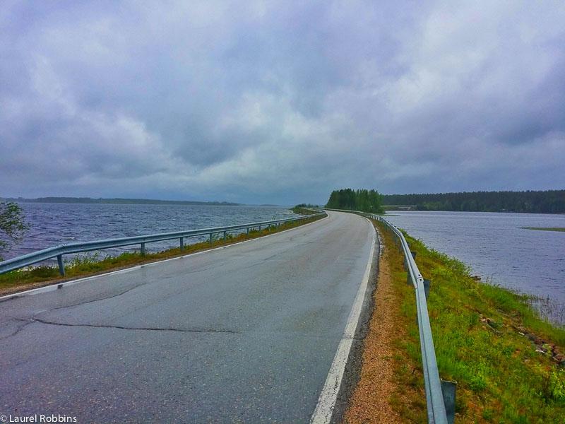 adventures of cycling EuroVelo 13 Finland -10-2