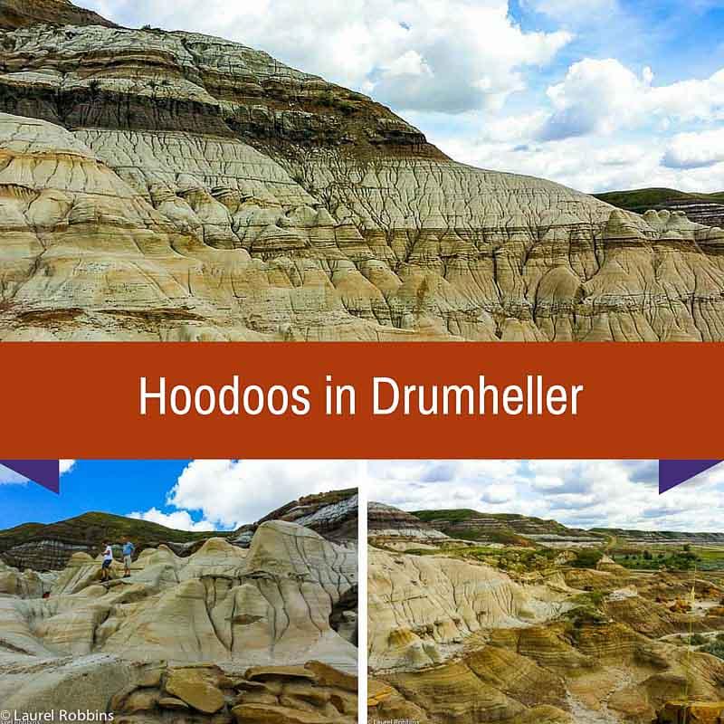 Hoodoos in Drumheller, Alberta Badlands