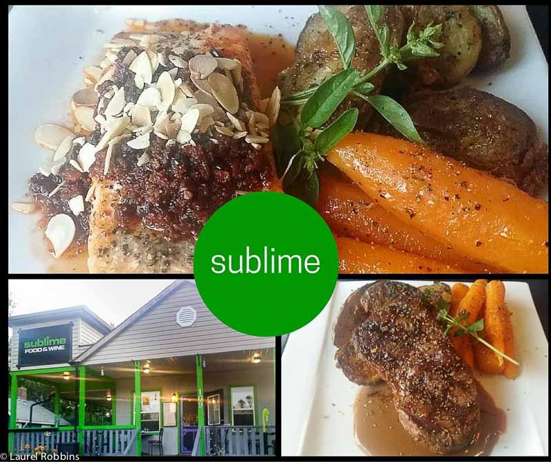 Sublime restaurant in Drumheller, Alberta Badlands