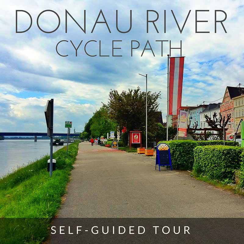 Danube River Cycle Path from Passau, Germany to Vienna, Austria