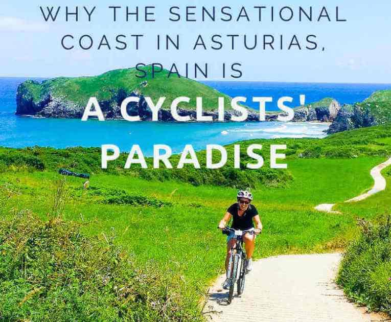 Coast in Asturias, Spain is a Cyclists' Paradise