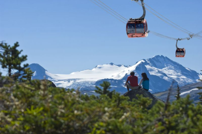 The Sea to Sky tour from Vancouver to Whistler is stunning.