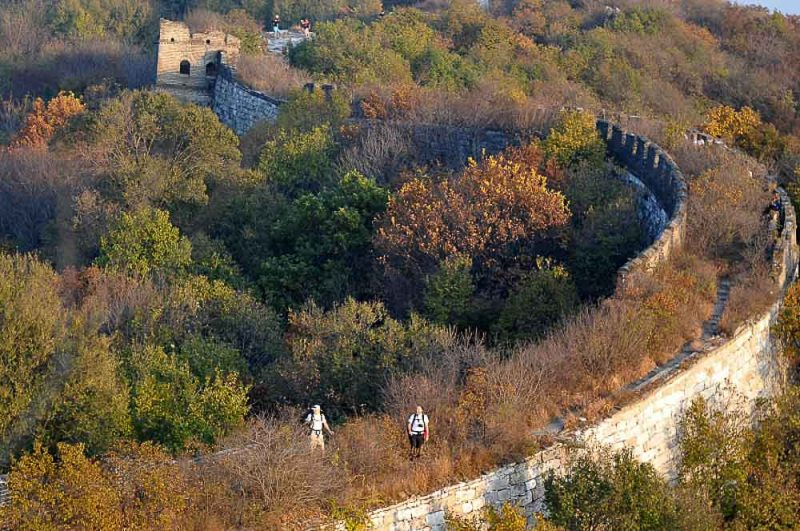 HIke along one of the Wonders of the World, the Great Wall of China